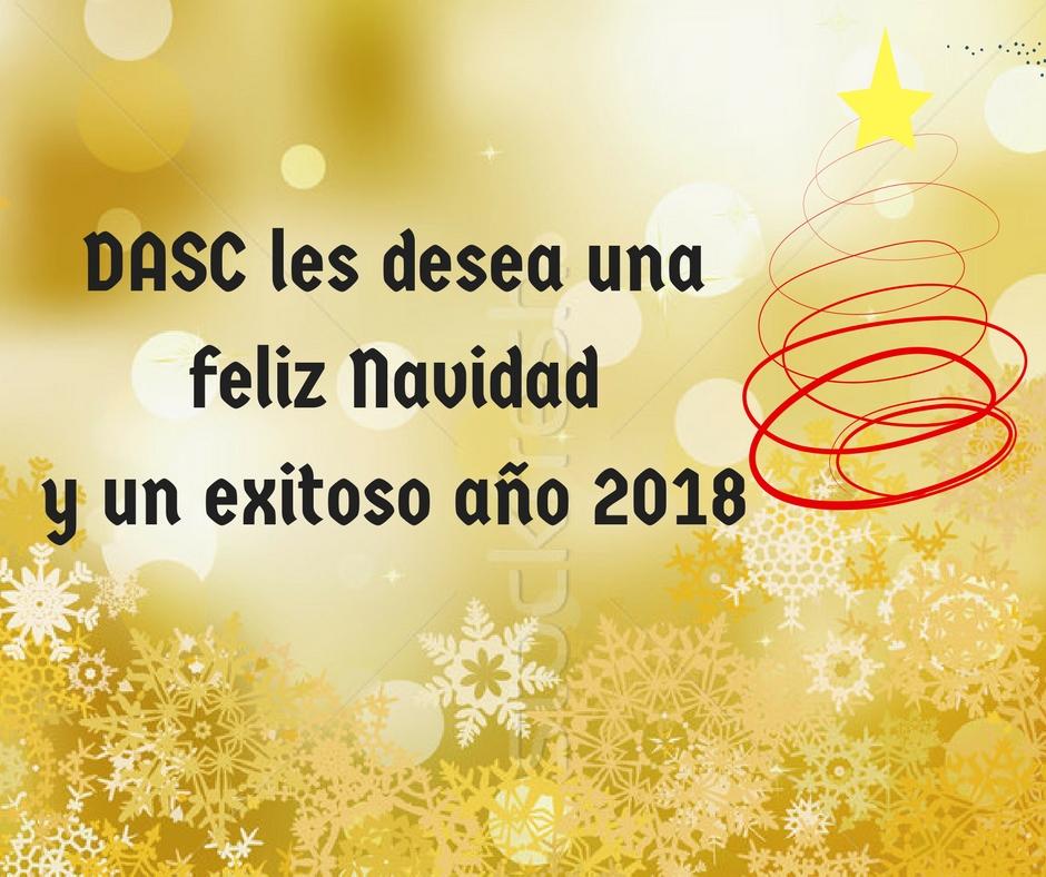 Felices fiestas y prospero año 2018